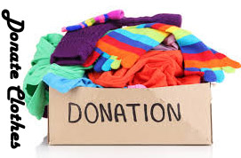 how to donate clothes